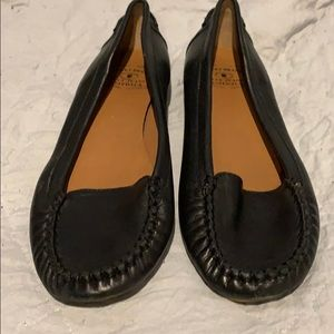 Lucky Brand black leather loafers 8.5